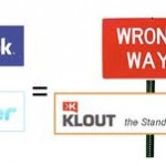 The formula for Klout