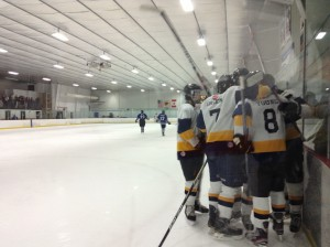 The Penn Manor ice hockey team will face Manheim Township Friday, February 22 at 7 p.m. at Lancaster Ice Rink.