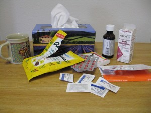 Many students, teachers and staff have needed items like these as the flu has affected many this season.