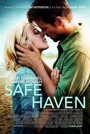 Safe Haven, a film starring Julianne Hough, Josh Duhamel and Cobie Smulders, is based on the popular Nicholas Sparks novel of the same name.