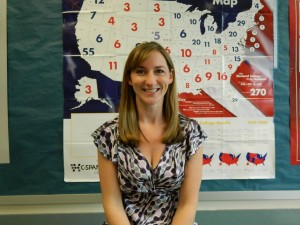 Ms. Lonergan- Teacher 'Working, hiking in Maine, and also training for a marathon.""