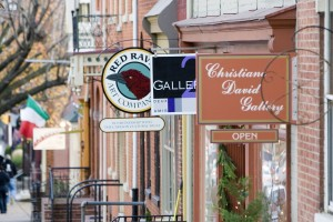 First Friday is held on the first Friday of every month in downtown Lancaster, Pa. Tonight's event is from 5-9 p.m.