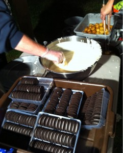 A highlight of the night is always the deep fried Oreos. (Photo by Douaa Jellouf)