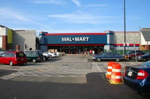 Wal-Mart which is open 24 hours a day, starts its Black Friday sales at 6 p.m. along with Best Buy on Thanksgiving Day. (photo credit: Elvert Barnes via photopin cc)
