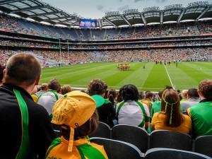Comet football could play here at Croke Park in Dublin, Ireland in August 2014.