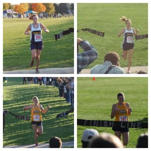 Senior Greta Lindsley crossed the Lancaster-Lebanon League finish line first all four years of her high school cross country career. (Photo provided by Greta Lindsley)