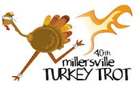 The Millersville Turkey Trot on Thanksgiving day benefits families in the community by asking the competitors to donate two non-perishable items for the local food bank.