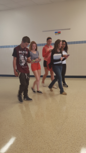 Students at Penn Manor High School are now allowed to use cell phones in the hallways between classes.